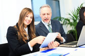 Business people at work — Stockfoto