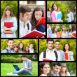collage di studenti — Foto Stock #41020365
