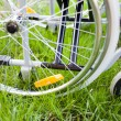 Wheelchair detail — Stock Photo #41020871