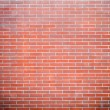 Stock Photo: Red brick wall texture