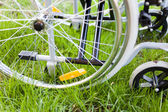 Wheelchair detail — Stock Photo