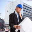 Architect at work — Stock Photo #41490709