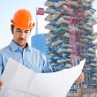 Architect at work — Stock Photo #41490981
