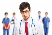 Confident doctor — Stock Photo