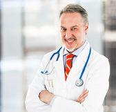 Confident doctor — Stock Photo