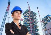 Architect portrait — Stock Photo