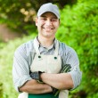Professional gardener — Stock Photo