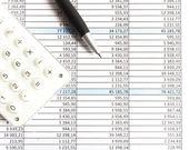 Rapporti finanziari — Foto Stock