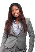 Beautiful african businesswoman — Stock Photo