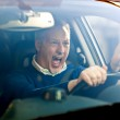 Angry driver — Stock Photo #42833607