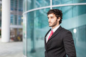 Businessman outdoor — Stockfoto