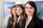 Business team in a modern office — Stock Photo