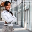 Beautiful african businesswoman — Foto de Stock