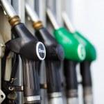 Gas pump nozzles — Stock Photo #44647015