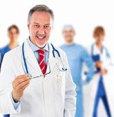 Doctor portrait — Stock Photo