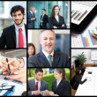 Business people at work — Stock Photo #47779377