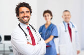Smiling doctor portrait — Stock Photo