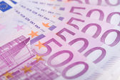 500 Euro bills — Stock Photo