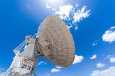 Radar under blue sky — Stock Photo