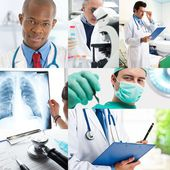 Medical workers — Stockfoto