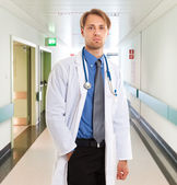 Doctor at work — Stockfoto