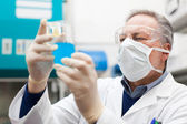 Researcher at work in a laboratory — Stockfoto