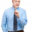 Mature businessman having great idea — Stock Photo #50348549