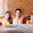 Friends relaxing in spa — Stock Photo #50350089