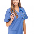 Young smiling nurse — Stock Photo #50352331