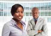 Black business people — Stock Photo