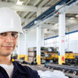 Worker in factory — Stock Photo #50384741