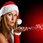 Christmas girl — Stock Photo #7396412