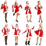 Christmas woman — Stock Photo #7939744
