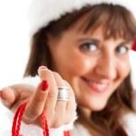 Christmas girl — Stock Photo #7940494