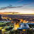 Stock Photo: Sunset views over Edinburgh