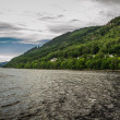 Stock Photo: View of Loch Ness in summer