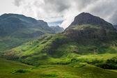 En el verano en las tierras altas de escocia — Foto de Stock