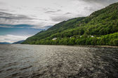 View of Loch Ness in the summer — Stock Photo