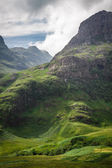 Scottish mountains in summer — Stock Photo
