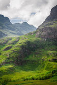 Scotland highland in summer — Stock Photo