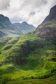 Scotland highland in summer — Stock Photo