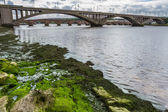 View of the bridges in a small town in Scotland — ストック写真
