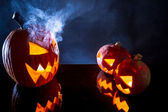 Umpkins come simbolo di festa di halloween — Foto Stock