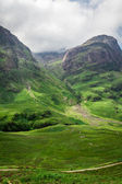 Scotland highlands in summer — Stock Photo