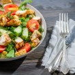 Stock Photo: Healthy salad ready to eat