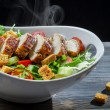 Caesar salad made ​​with fresh ingredients - ストック写真