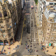 View to Princess Street in Edinburgh — Stock Photo #17126257