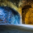 Stock Photo: Mixed light in stone chamber