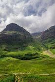 Beau sentier dans les hautes-terres — Photo