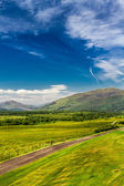 Viste le highlands scozzesi in estate — Foto Stock